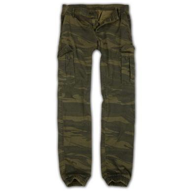 Kalhoty BAD BOYS GREEN CAMO