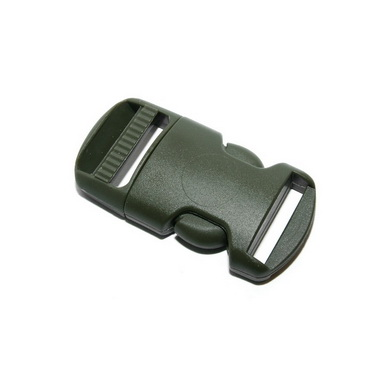 Spona/pøezka plastová kompletní 16 mm ZELENÁ