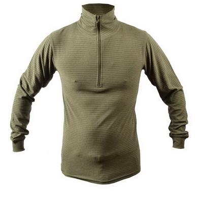 Nátìlník (triko) zimní termo 2012 originál AÈR oliv nový - zvìtšit obrázek