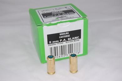 Nábojka 9mm P.A. Blanc S&B