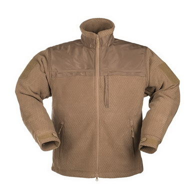Bunda ELITE FLEECE HEXTAC® DARK COYOTE