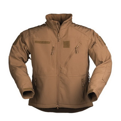 Bunda softshell SCU 14 DARK COYOTE