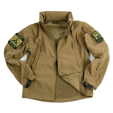Bunda TACTICAL 101 INC Softshell PÍSKOVÁ