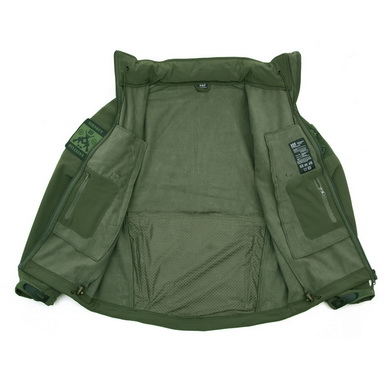 Bunda TACTICAL 101 INC Softshell ZELENÁ