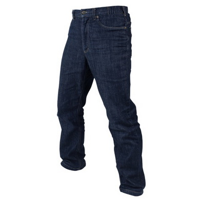 Kalhoty CIPHER Jeans INDIGO MODRÁ