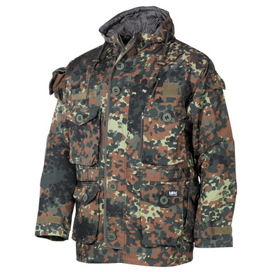 Bunda COMMANDO SMOCK FLECKTARN