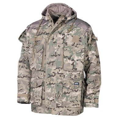 Bunda COMMANDO SMOCK Operation-Camo