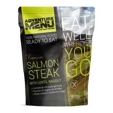 Steak z lososa s èoèkovým ragú - ADM sterilizované hotové jídlo - zvìtšit obrázek