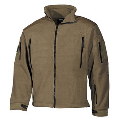 Bunda fleece Heavy-Strike COYOTE