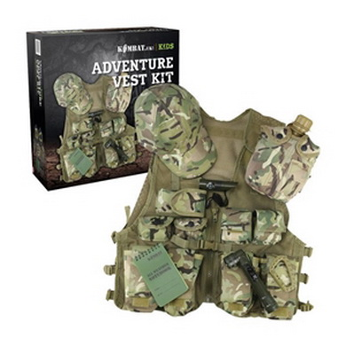Set JUNIOR dìtský ADVENTURE VEST KIT BTP