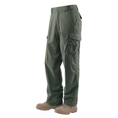 Kalhoty 24-7 ASCENT micro rip-stop RANGER ZELENÉ