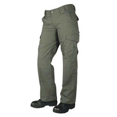 Kalhoty dámské 24-7 ASCENT micro rip-stop RANGER ZELENÉ
