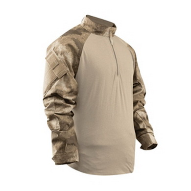 Košile taktická COMBAT TRU 1/4 ZIP A-TACS AU™