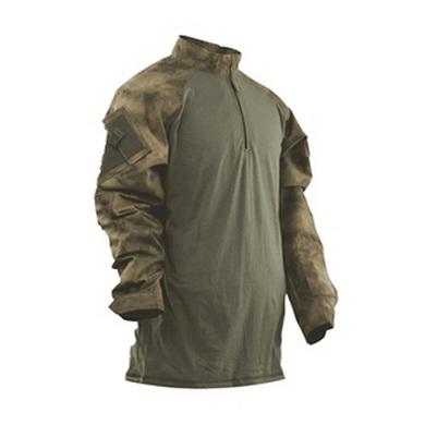 Košile taktická COMBAT TRU 1/4 ZIP A-TACS FG™