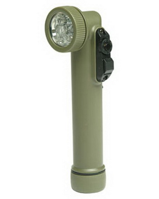 Svítilna 6 LED BRITSKÝ TYP - OLIV