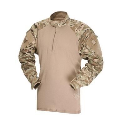 Košile taktická COMBAT TRU 1/4 ZIP TERRAIN TIGER