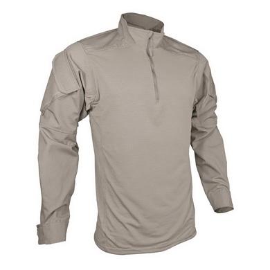 Košile taktická URBAN FORCE TRU 1/4 ZIP KHAKI