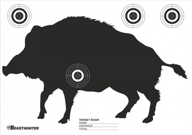 Terè silueta Beast Hunter Boar 10ks