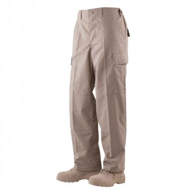 Kalhoty BDU P/C rip-stop KHAKI