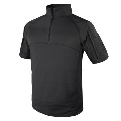 Košile taktická COMBAT krátký rukáv ÈERNÁ