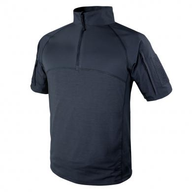 Košile taktická COMBAT krátký rukáv MODRÁ
