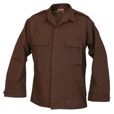 Košile taktická dl.rukáv HNÌDÁ