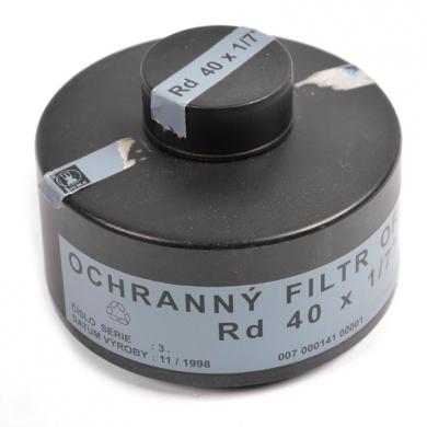 Filtr AÈR OF-90 pro plynovou masku použitý - zvìtšit obrázek
