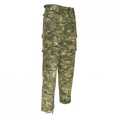Kalhoty britské S95 rip-stop BTP/MTP camo