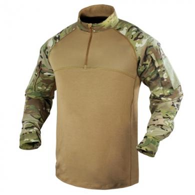 Košile taktická COMBAT se zipem MULTICAM®