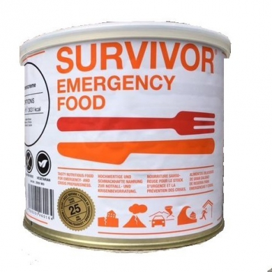 Jídlo SURVIVOR® Emergency Tìstoviny SICILIANA 875 g