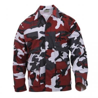 Blùza US typ BDU RED CAMO