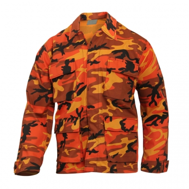 Blùza US typ BDU Savage ORANGE CAMO