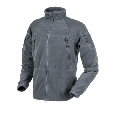 Bunda STRATUS® HEAVY FLEECE ŠEDÁ