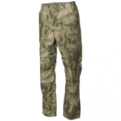 Kalhoty US BDU rip-stop HDT CAMO FG
