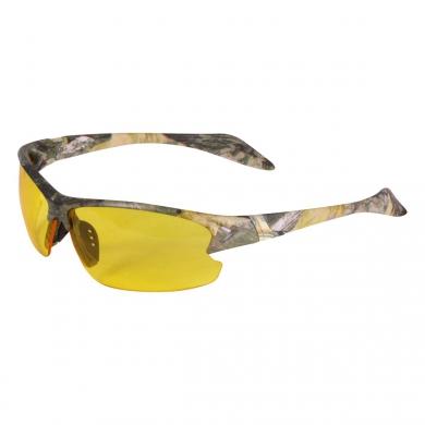 Brýle støelecké 2 skla s pouzdrem FOREST CAMO ZELENÉ