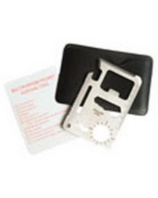 Multifunkèní karta 10 nástrojù /kreditka/