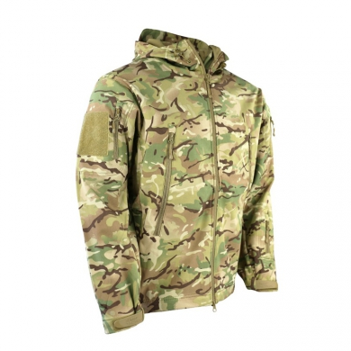 Bunda softshell TACTICAL PATRIOT maskování BTP
