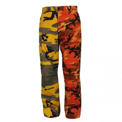 Kalhoty dvoubarevné BDU YELLOW ORANGE CAMO - zvìtšit obrázek