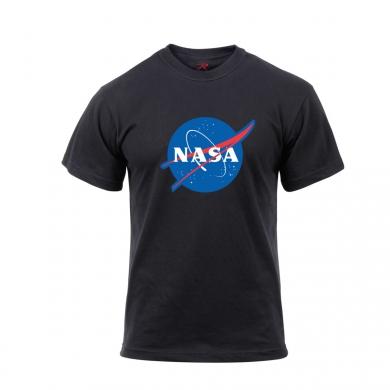 Triko se znakem NASA ÈERNÉ
