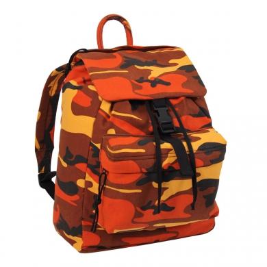 Batoh 1-denní s kapsou Savage Orange Camo - zvìtšit obrázek