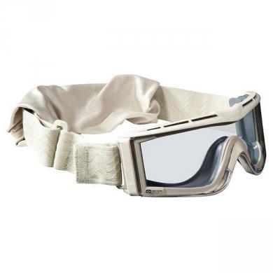 Brýle taktické BOLLE X-810 PÍSKOVÁ - ÈIRÉ SKLO
