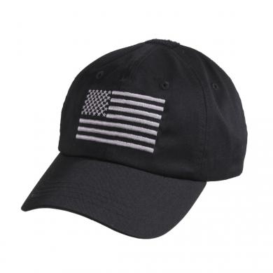 Èepice baseball TACTICAL OPERATOR vlajka US ÈERNÁ - zvìtšit obrázek