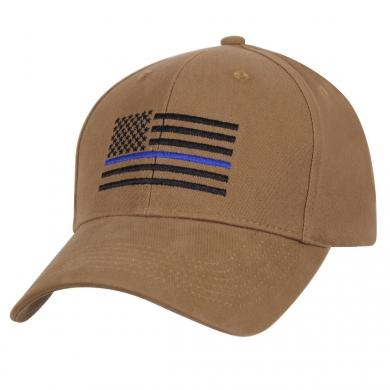 Èepice baseball US vlajka s modrou linkou COYOTE