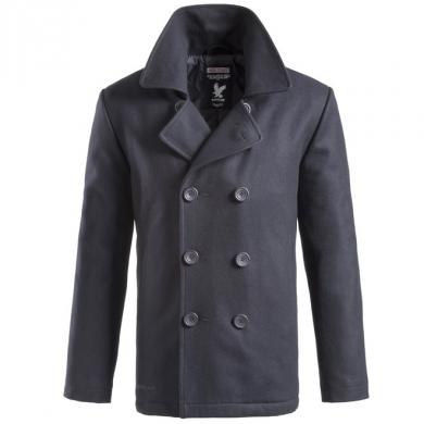 Kabát PEA COAT NAVY MODRÝ