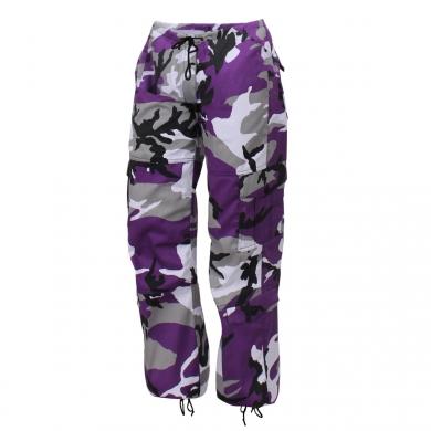 Kalhoty dámské PARATROOPER VIOLET CAMO - zvìtšit obrázek