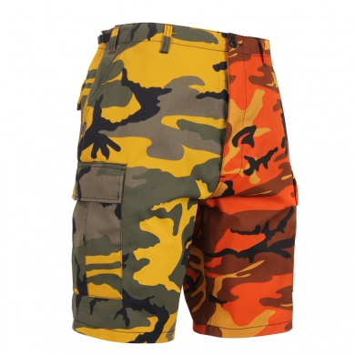 Kra�asy dvoubarevn� BDU YELLOW/ORANGE CAMO - zv�t�it obr�zek