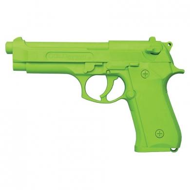 Pistole cvièná MODEL 92 plastová REFLEXNÍ ZELENÁ