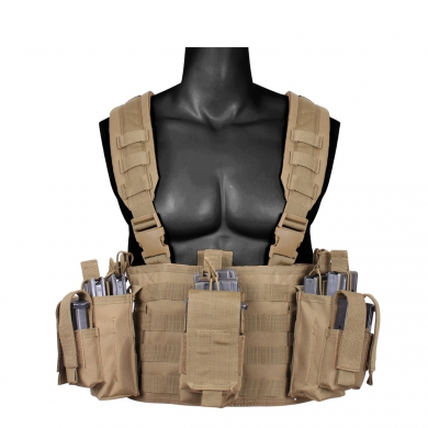 Vesta taktická OPERATORS CHEST RIG COYOTE BROWN