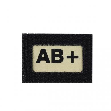 Nášivka GLIND TAPE krevní skupina AB+