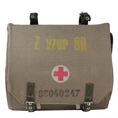Brašna pøes rameno zdravotní Z vz.80 vybavená